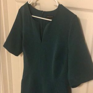 Emerald Banana Republic dress- Worn once!